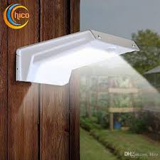 solar power outdoor wall lights led motion sensor light sound sensor outdoor wall lamps 20 led light with sensor garden light uk 2019 from hico