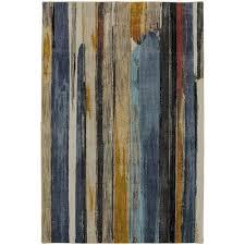 american rug craftsmen muse eureka multicolor rectangular 5 ft 3 inch x 7