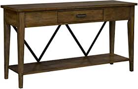 expandable console table. Broyhill 3113-009 Creedmoor Console Tables, Brown Expandable Table
