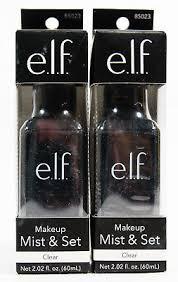 2 elf studio makeup mist set spray 85023 clear