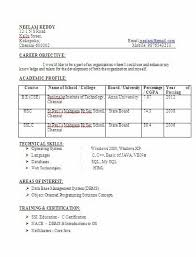 B Tech BE Computer Science Engineering Fresher With DBMS Certificate Delectable Resume B Tech