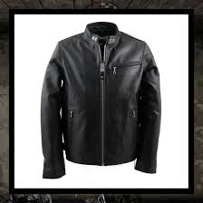schott n y c café racer leather motorcycle jacket