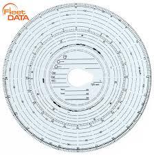 Tachograph Chart Reader Tachograph Analogue Charts 180km H