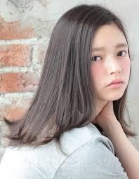 暗髪でも可愛いダークベージュカラーtyー162 ヘアカタログ髪型