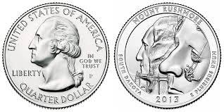 State Quarter Value Chart 2013 P Mount Rushmore Quarter Coin Value Prices Photos Info