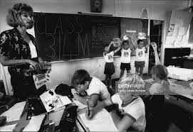 Composite Classes at Panania Public School.. Class 3/4MMargaret... News  Photo - Getty Images
