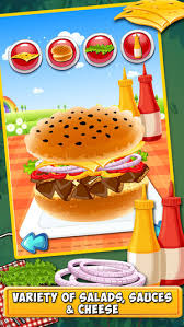 fast food maker burger maker free fast food cooking and restaurant manager game for