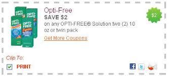 Free Print Coupons New Printable Coupons Opti Free Loreal Newmans Own More