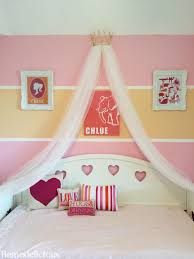 DIY Princess Crown Bed Canopy From Upcycled Pageant Crown ...