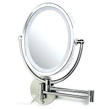 magnifying mirror wall mount wall mounted magnified mirror with lighted best lighted wall mounted magnifying mirror