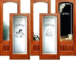 24 x 80 interior door pantry inch with glass doors closet by