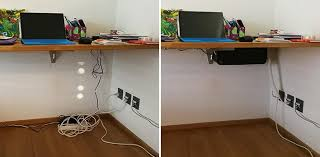 office cord management. very conveniant and a beautiful object office cord management