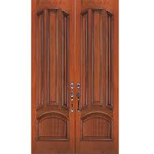 wood furniture door. surface will flake because fiberglass is not usually painted unlike some concrete or metal furniture similarly doors made by have the wood door o