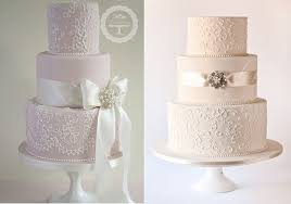 Lace Wedding Cakes Part 2 Lace Piping Cake Geek Magazine