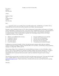 format of cover letter for internship co internship application resume cover letter internship cover letter examples for best sample