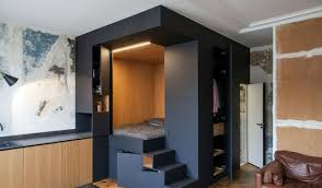 unique contemporary lighting. Custom Bedroom Design Box With Unique Contemporary Light Lighting