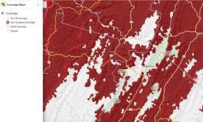 verizon coverage map shows att roaming