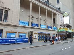 Music Box Theatre New York Seating Chart Music Box Theatre Broadway New York Music Box Theatre