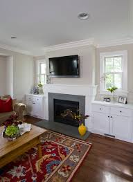 family room fireplace built ins rustic family room