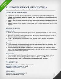 Resume Example Sample Resume Customer Service Representative