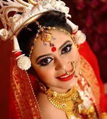 gorgeous traditional look by beauty artist zahid khan beautiful hindu bride in desh