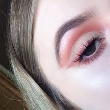 rose gold negative e eye makeup