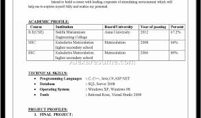Fresher Resume Sample In Usa Computer Science Engineer Resume