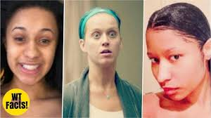 15 famous female singers without makeup on their faces cardi b katy perry and more