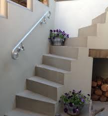 external handrails for steps uk. wall fix handrail - galvanized finish external handrails for steps uk
