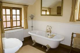 Brown Painted Bathrooms Bathroom Light Colored Bathroom Design With Blue Towel Hanging