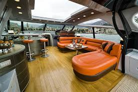 a19 led bulb 5w 12v dc installed in yacht upper deck lounge area