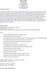 Student Resume Dayjob Download Dance Teacher Resume For Free Tidytemplates