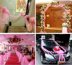 2016 Car Bumper Guard Guard 59 Width Wedding Decorative Tulle Yarn Gauze  For Romantic Decoration Party Favors Supplies Winter Wedding Decorations  Indian ...