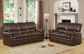 Living Room With Brown Leather Sofa Brown Leather Sofa In Living Room Living Room Ideas