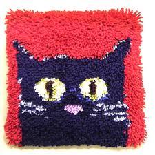 hobbycraft cat latch hook kit hobbycraft latch hook rug patterns