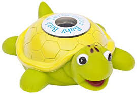 Amazon.com : Ozeri Turtlemeter The Baby Bath Floating Turtle Toy and ...