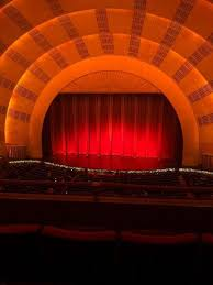 Radio City Music Hall New York Seating Chart Radio City Music Hall Section 2nd Mezzanine 3