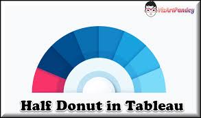 How To Do Donut Chart In Tableau Semi Donut Chart In Tableau