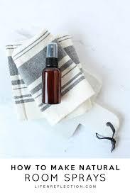easy diy essential oil room spray
