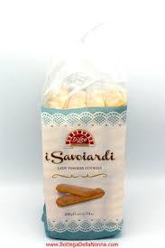 Ladyfinger (biscuit), light and sweet sponge cakes roughly shaped like a large finger. Savoiardi Lady Fingers Di Leo La Bottega Della Nonna