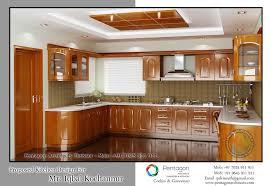 interior design kitchen. Kerala Style Kitchen Interior Designs Traditional Wooden Design Wall Ideas B