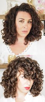 diy curly cut for shape and volume right side angle jpg