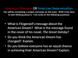 american dilemma or american determination you will be completing  1 american