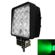 Green Led Work Light Amazon Com Audak Green Hunting Fishing 48w 4 Inch Square
