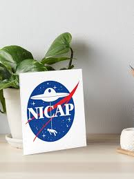 """NICAP"""" Art Board Print by ourkid 