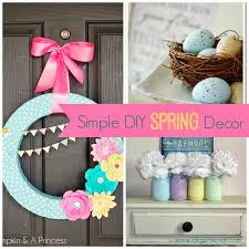 simple diy spring decor ideas i dig pinterest