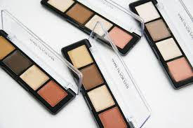 fun size beauty make up for ever pro sculpting 4 in 1 face contouring palette in 20 light 30 um 40 tan 50 dark