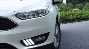 Led Signature Lighting Ford Ijdmtoy Ford Focus Led Daytime Running Lights In Mustang Style