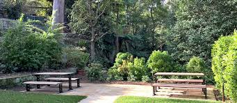 inviting picnic settings at hornsby secret garden