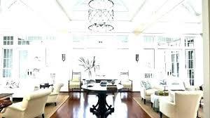 lighting ideas for high ceilings